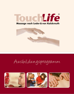 Infobroschuere_TouchLlife_Massageschule
